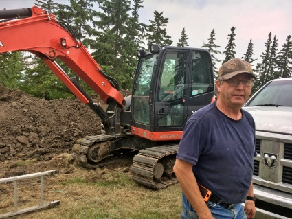 Terry has all the education and training required to remain a certified septic system installer.