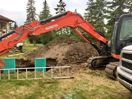 The business focuses on and specializes in septic systems, helping customers understand the importance of a proper system.
